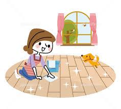 正しい床清掃